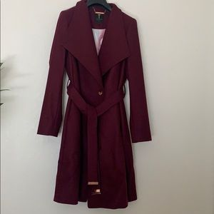 Ted Baker wool & cashmere coat. Never worn.